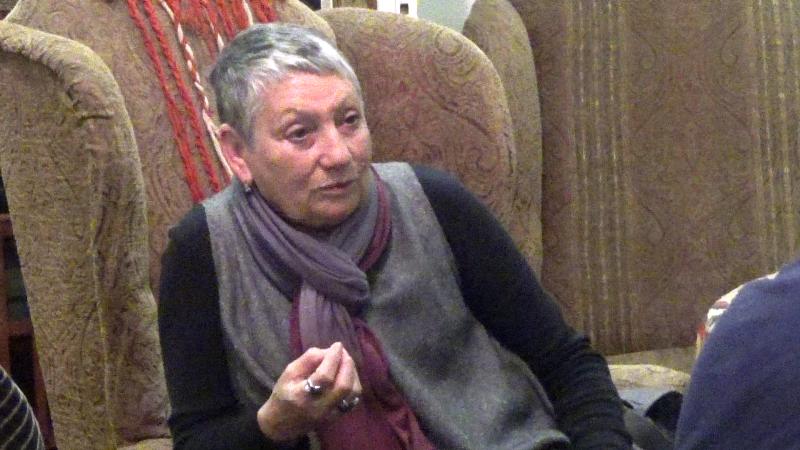 A szalon vendége volt Ljudmila Ulickaja
